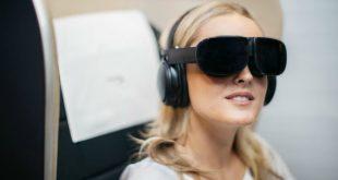 VR 上天,英国航空公司让头等舱乘客体验虚拟现实娱乐设备