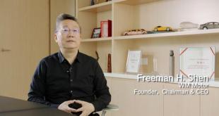 """中国""""马斯克""""荣膺UCLA最佳校友 威马创始人沈晖谈如何造车"""